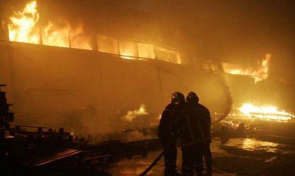 Canicule : plusieurs incendies et routes coupées à Béjaïa