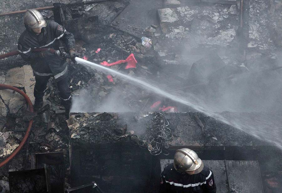 Tizi Ouzou, RCD, incendies
