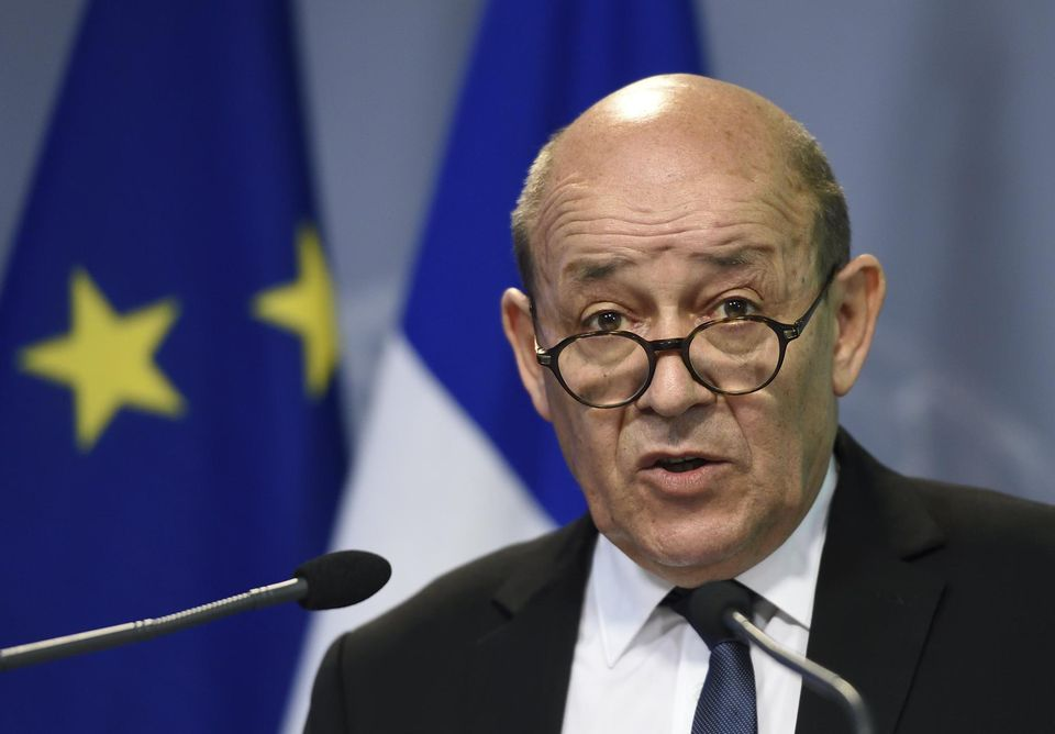 Jean-Yves Le Drian, chef de la diploMatie française. D. R.