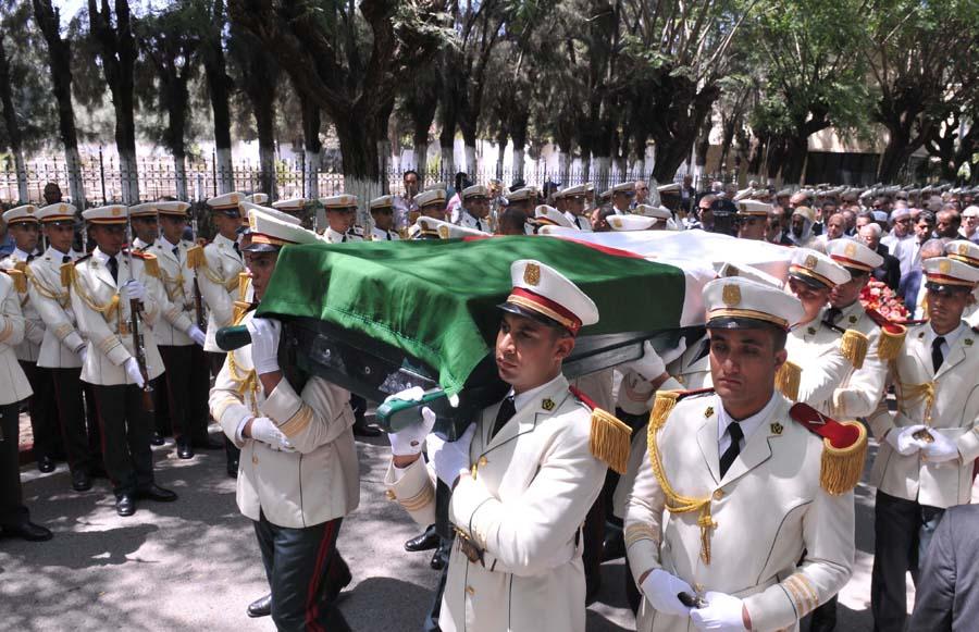 enterrement Rédha Malek