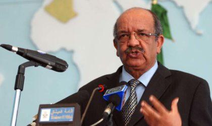 Messahel s'entretient avec son homologue saoudien