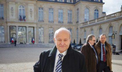 Le patron de Cevital Issad Rebrab rencontre le Premier ministre français