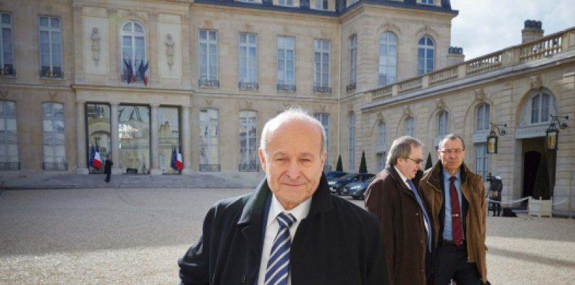 En octobre 2014 déjà, Issad Rebrab était reçu à l'Elysée. D. R.