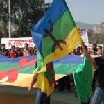 Lors de la célébration du 37e anniversaire du printemps berbère à Tizi-Ouzou. D. R.