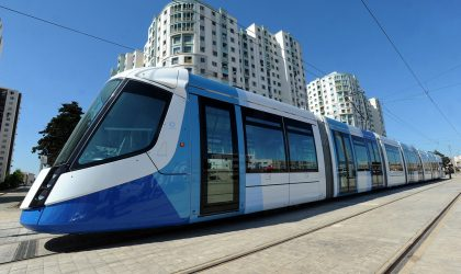 Le premier tramway made in Algeria inauguré à Sid Bel-Abbès