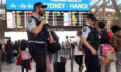 Australie: des terroristes projetaient une attaque au gaz toxique dans un avion
