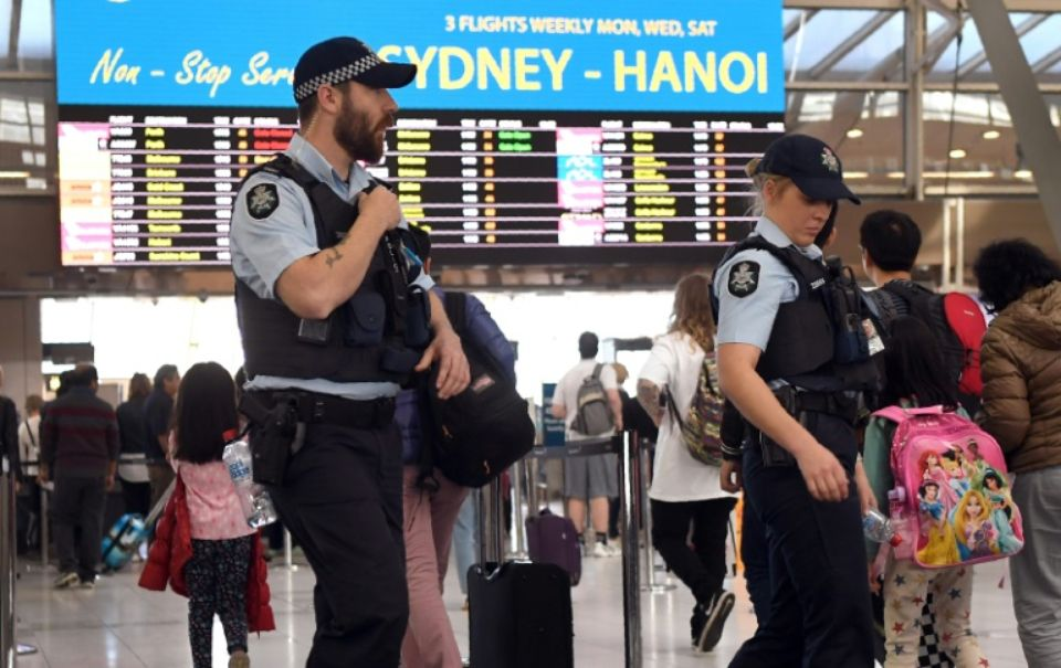 Australie attentat