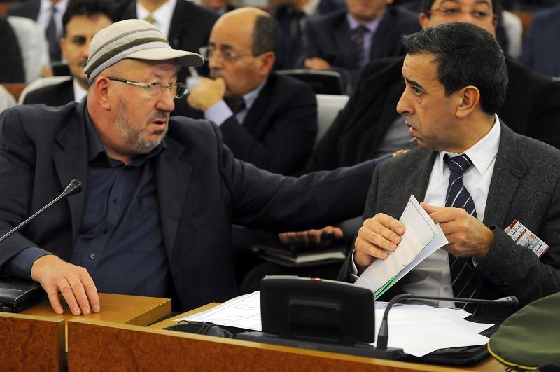 Abdelmadjid Sidi Saïd et Ali Haddad
