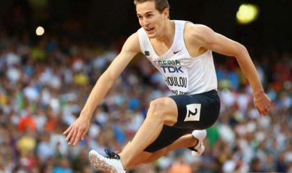 Abdelmalik Lahoulou rate la finale du 400 m haies à Londres