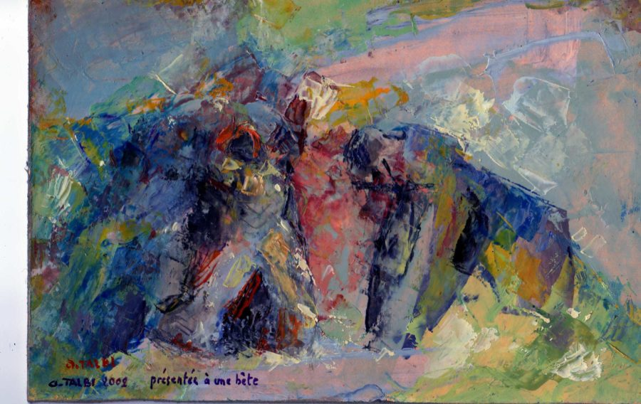 Akacha Talbi peintures