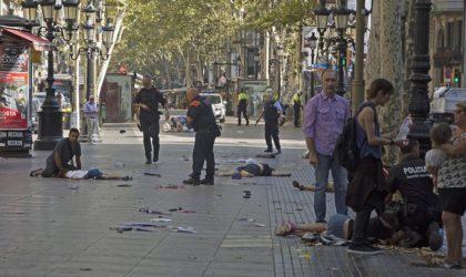 Nouvelle attaque à la voiture-bélier près de Barcelone: sept blessés dont un policier