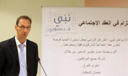 Le ministre des Finances reçoit  le représentant du PNUD