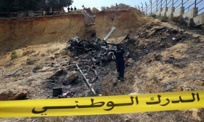 Quatre morts dans le crash d'un hélicoptère à Alger