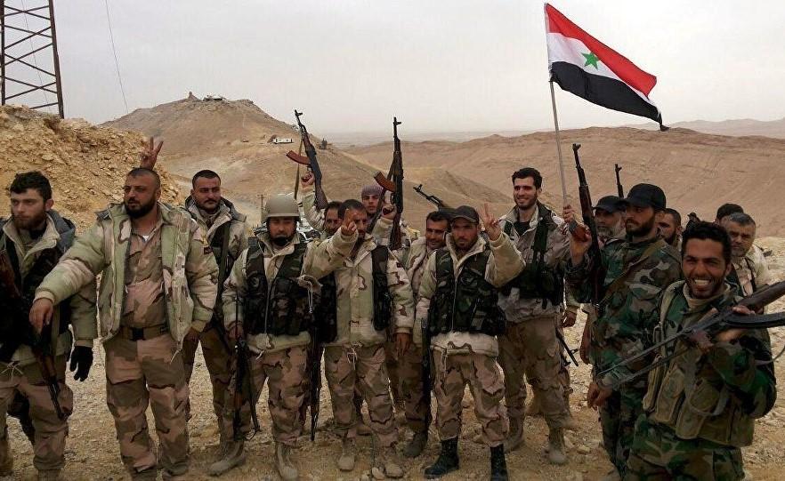 Les forces loyales à Al-Assad