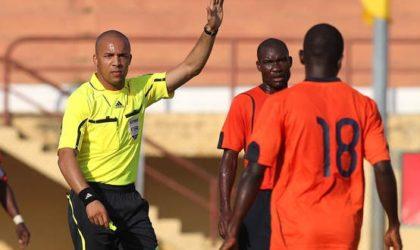 Zambie-Algérie : l'Angolais Martins De Carvalho au sifflet