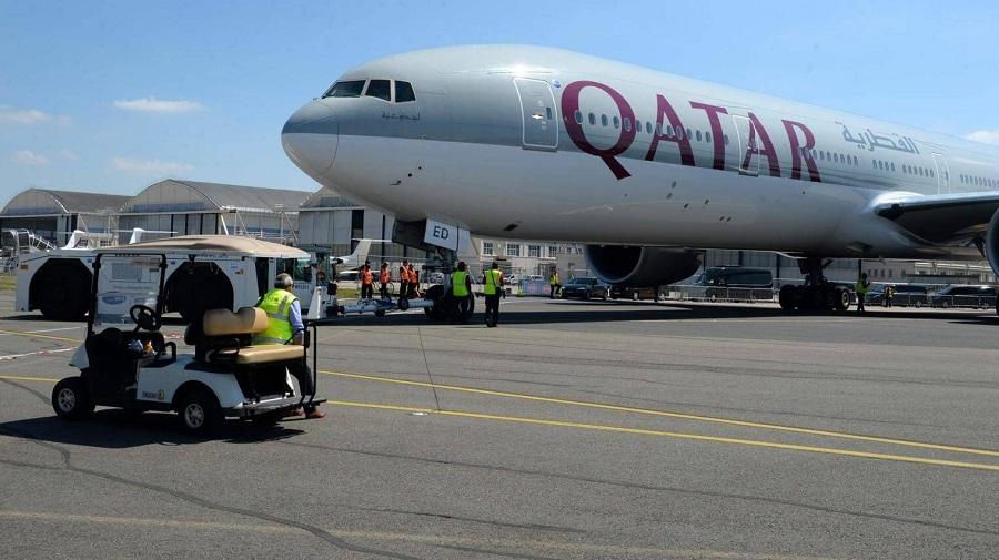 pèlerins qataris