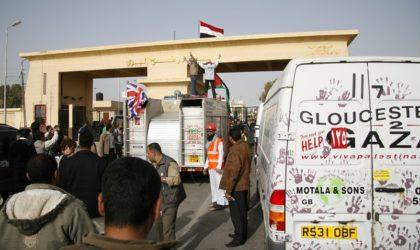 L'ambassadeur d'Egypte explique le blocage de la caravane à Gaza