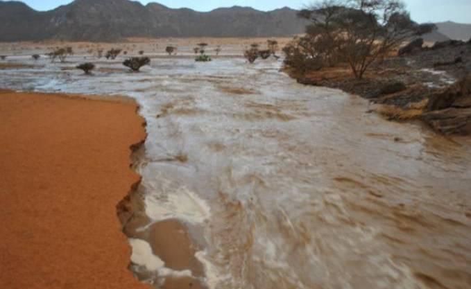 inondations Tamanrasset