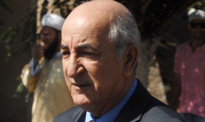 Teboune : «L'instruction relative à l'ouverture d'un dialogue national est prête»