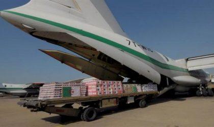 Arrivée à Agadez de l'aide humanitaire fournie par l'Algérie au Niger