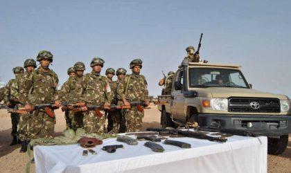 Deux caches contenant 18 bombes artisanales et des substances explosives découvertes à Tipasa