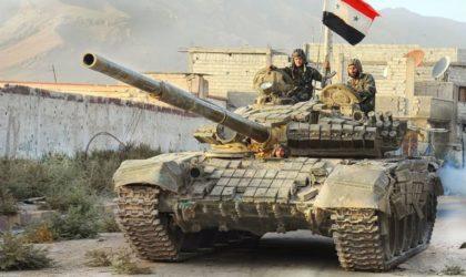 L'armée syrienne s'empare d'un bastion de Daech dans la province de Homs