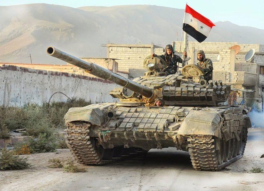 Armée syrienne daech