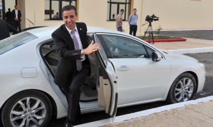 Ali Haddad première personne à féliciter Ahmed Ouyahia après sa désignation