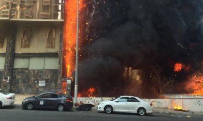 Arabie Saoudite: un hôtel de La Mecque évacué après un incendie