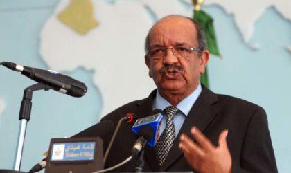 Crise libyenne : l'Algérie réitère son soutien aux efforts onusiens