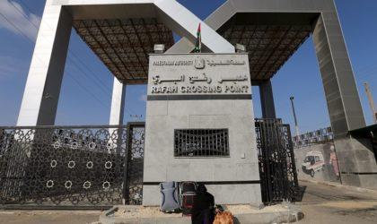 L'Egypte ouvre temporairement le passage de Rafah vers la bande de Gaza