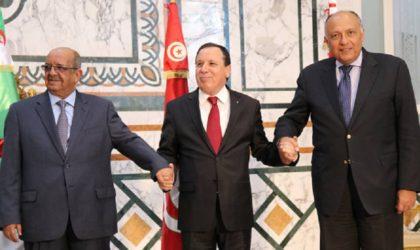 L'Algérie, la Tunisie et l'Egypte se concertent sur la Libye