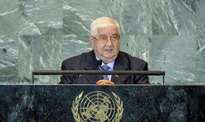 La Syrie prend la parole devant l'Assemblée générale de l'ONU