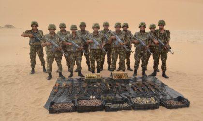 Contrebandiers, terroristes et clandestins neutralisés dans plusieurs régions du pays