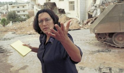 L'Israélienne Hass aux Européens : «Ne cédez pas au chantage affectif d'Israël !»
