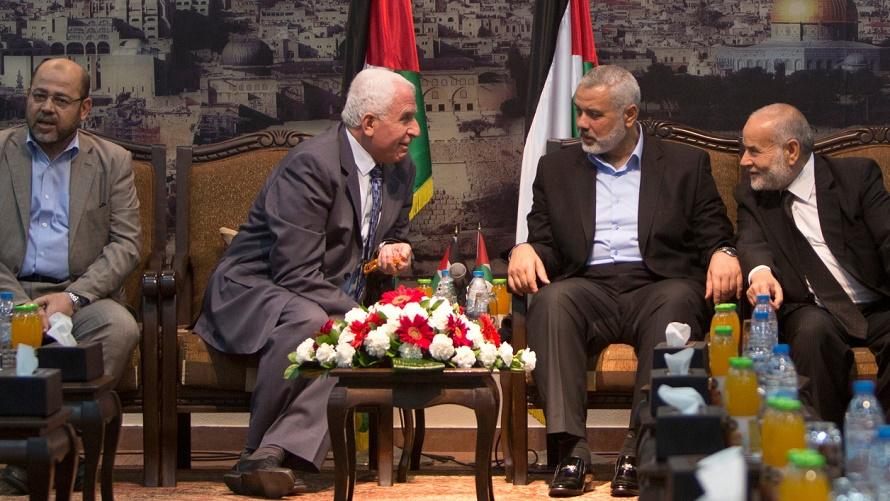 Hamas et Fatah
