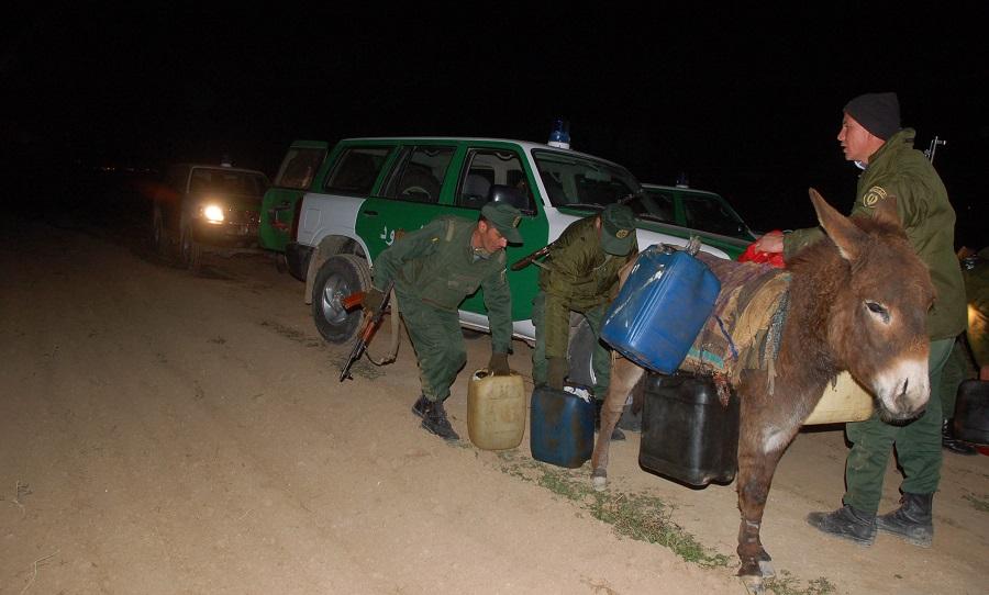 Contrebande frontière Maroc