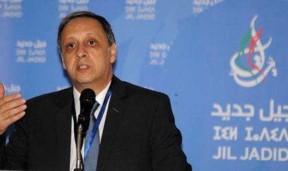 Soufiane Djilali mène campagne pour l'application de l'article 102 à Bouteflika