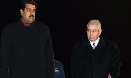 Maduro pour le renforcement de la coopération algéro-vénézuélienne