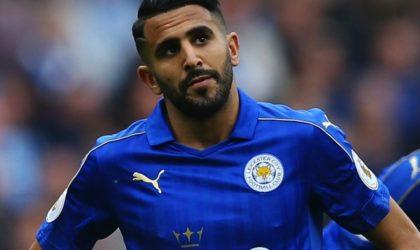 Riyad Mahrez envisage de quitter Leicester en janvier