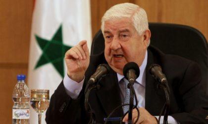 Walid El-Mouallem : «Damas prêt à discuter d'autonomie avec les Kurdes»