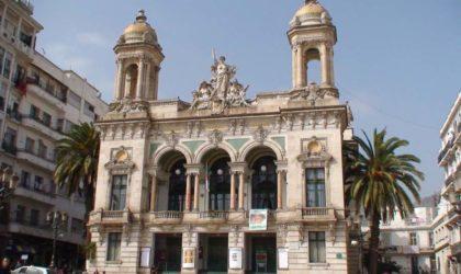 La restauration du Théâtre régional d'Oran bientôt lancée