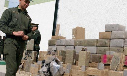 Sept narcotrafiquants interceptés et 144 kg de kif saisis