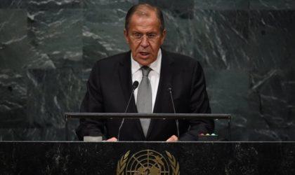 Le ministre russe des Affaires étrangères devant l'Assemblée générale de l'ONU
