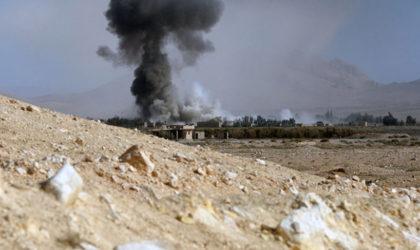 Syrie : frappes aériennes russes contre les positions de Daech près de Palmyre