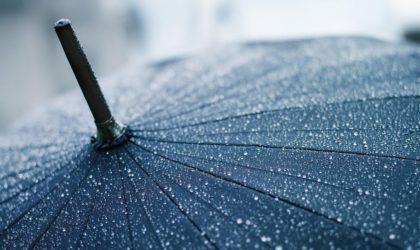 Des averses de pluie localement assez marquées sur les wilayas de l'est à partir de cet après-midi