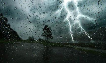 BMS: orages sur les régions côtières du Centre et de l'Est à partir de lundi soir