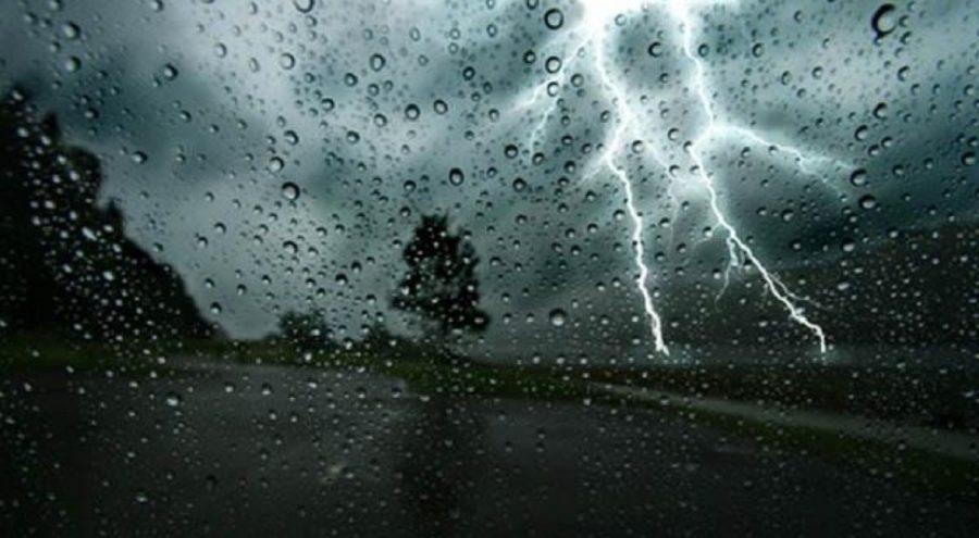 pluie orages