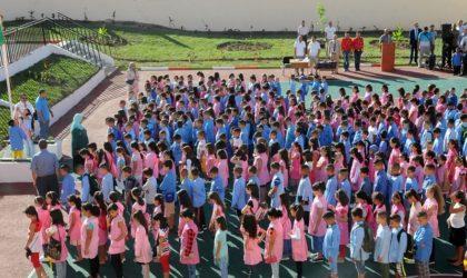 Plus de 9 millions d'élèves rejoignent mercredi les bancs de l'école