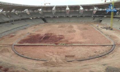 Nouveau stade d'Oran : qui réalisera la pelouse et la piste d'athlétisme?